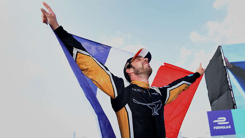 Jean-Éric Vergne Crowned Formula E Champion in New York City