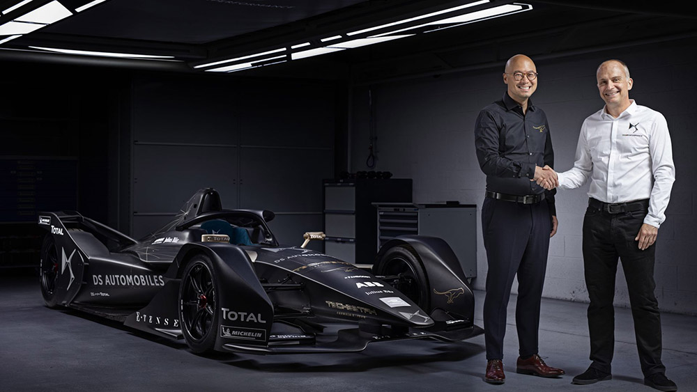 TECHEETAH Formula E Partners with DS Automobiles to Become a Manufacturer Team from Season Five Onwards