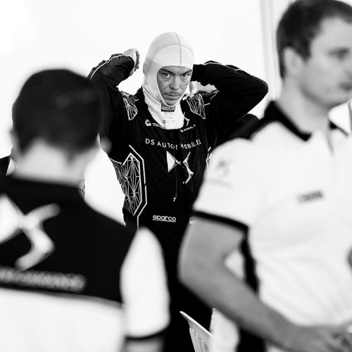 André Lotterer getting ready