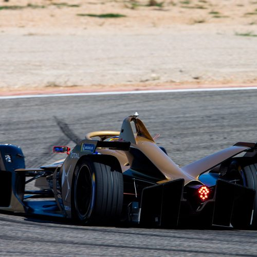 The DS FE E-Tense 19 from behind (2)