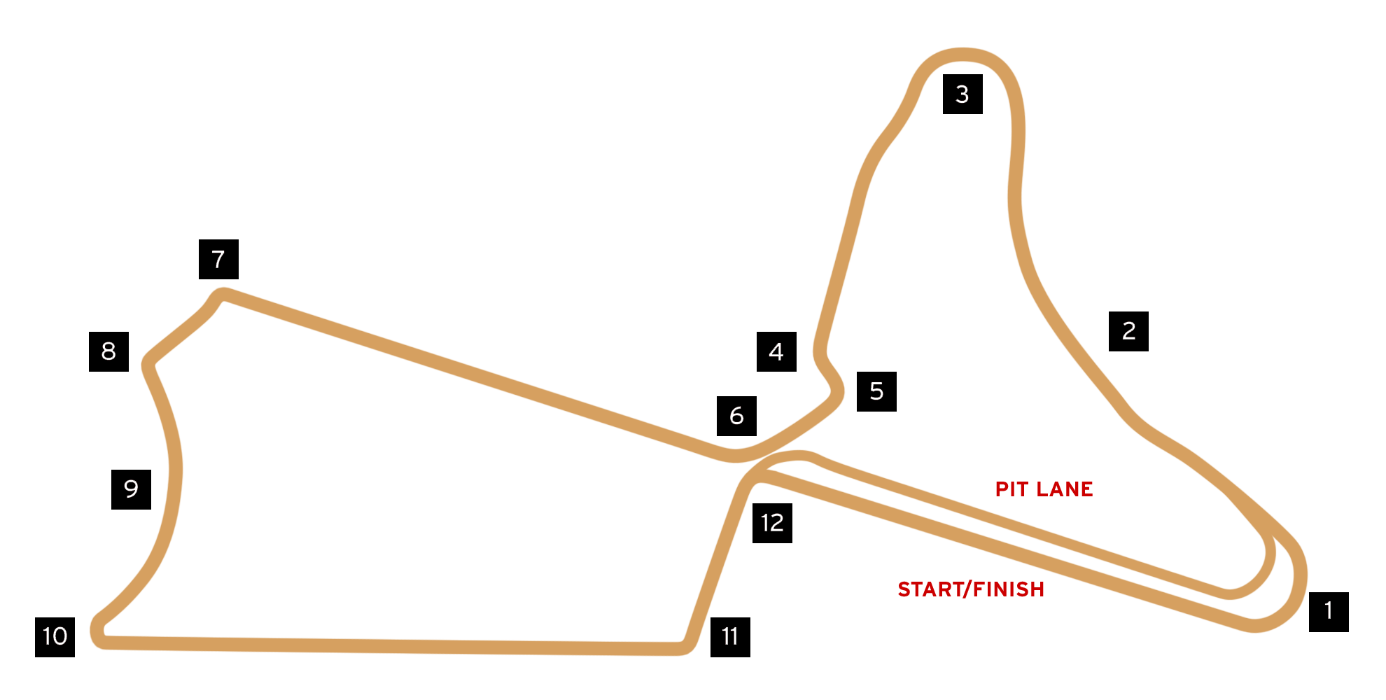 DS TECHEETAH Marrakesh Formula E race track map