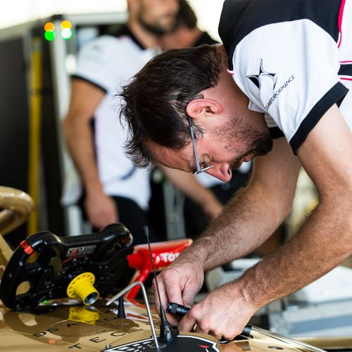 DS TECHEETAH Technical Team at work (2)