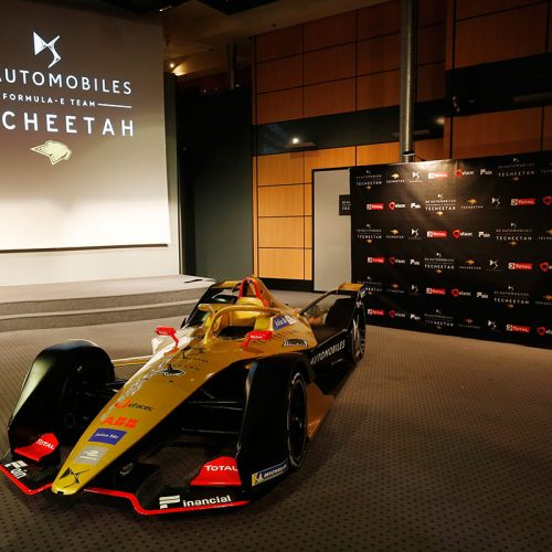 DS E-TENSE FE19 at the DS TECHEETAH team launch (1)