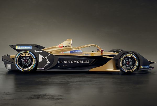 The new DS TECHEETAH Formula E car E-Tense FE 19