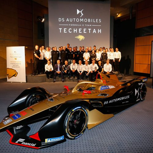 The DS TECHEETAH team (2)