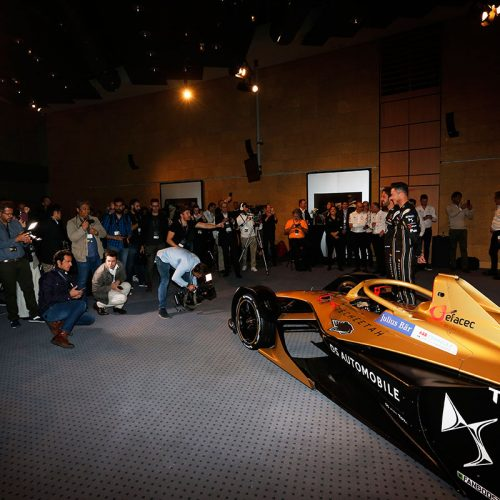 DS TECHEETAH launch event