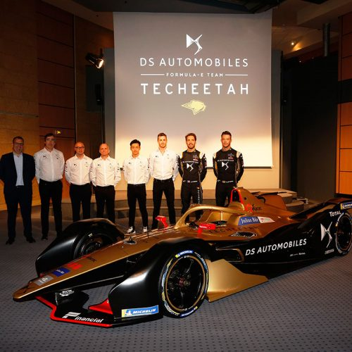 The DS TECHEETAH team (1)