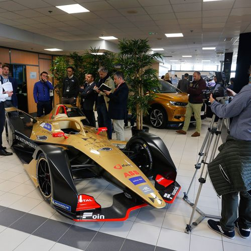DS TECHEETAH workshop with DS Technical Director Thomas Chevaucher