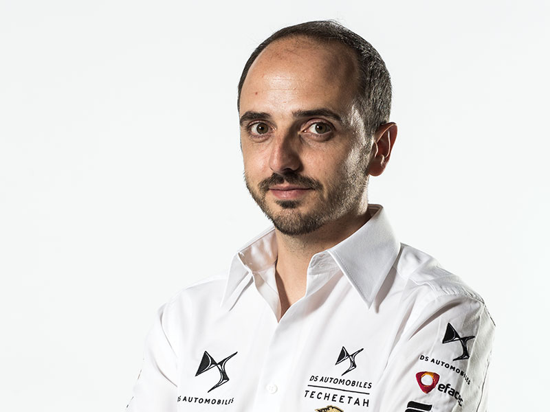 Leo Thomas, DS TECHEETAH Race Director