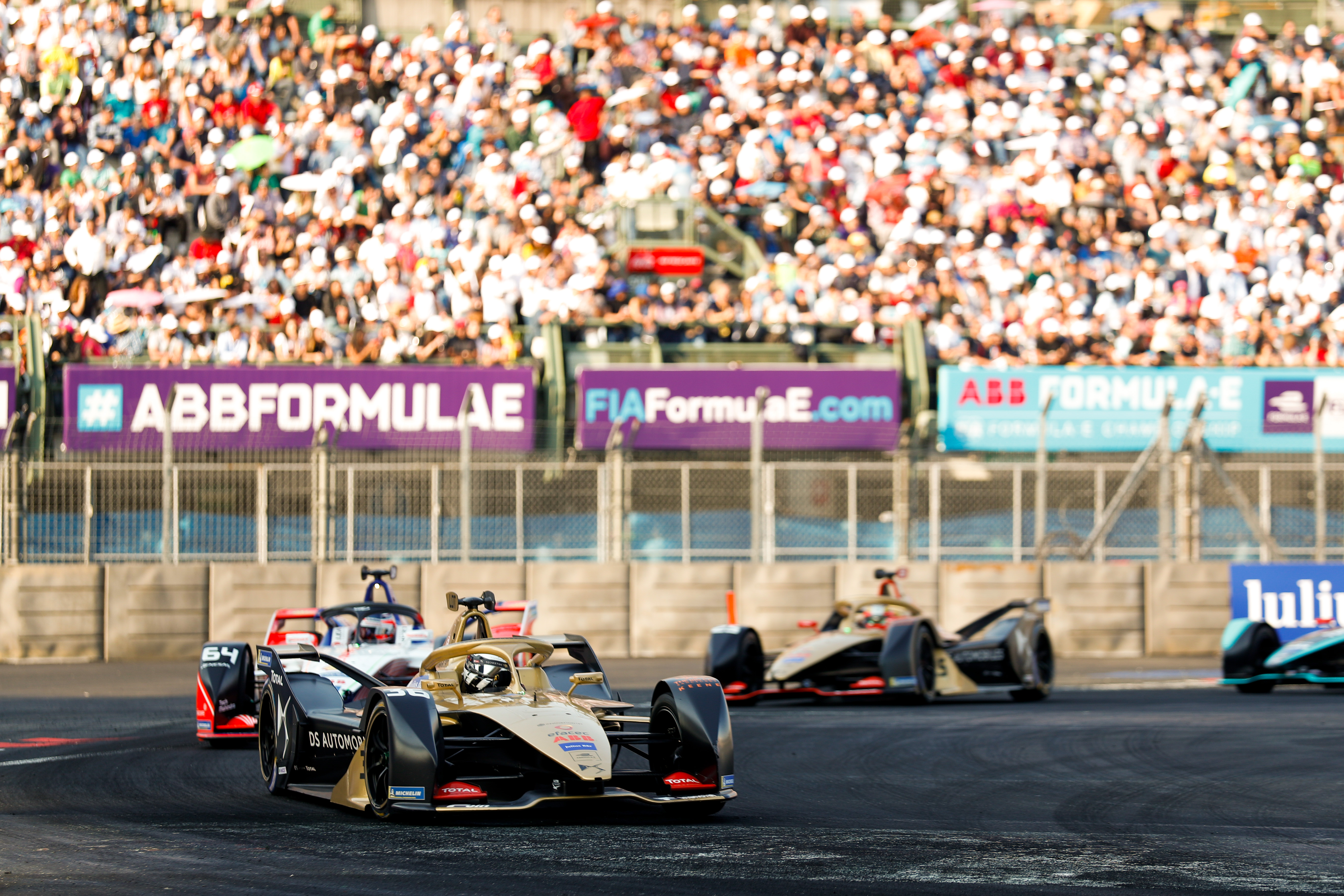 DST cars in Mexico City Eprix