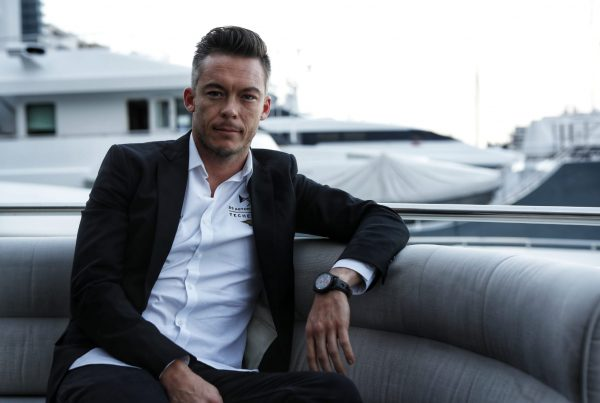 Andre Lotterer with the DS TECHEETAH Chronograph