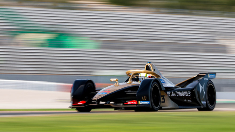 DS E-Tense FE 19 On Track | DS TECHEETAH