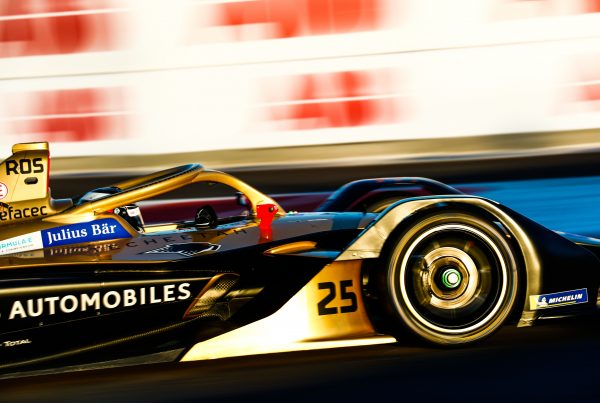 ROS in the DS E-TENSE FE19