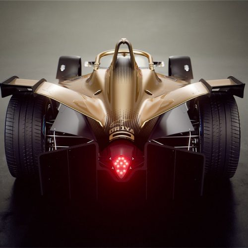 DS TECHEETAH E-Tense Formula E racing car 2020