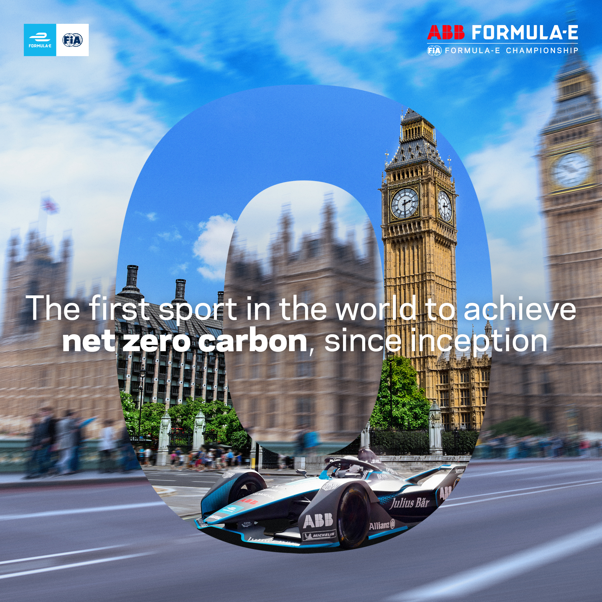 Formula E becomes first sport with certified net zero carbon footprint from inception